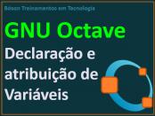 Como declarar variáveis no GNU Octave