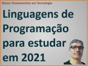 5 linguagens de programação para aprender em 2021