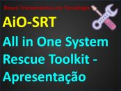 All in One system rescue toolkit manutenção sistemas