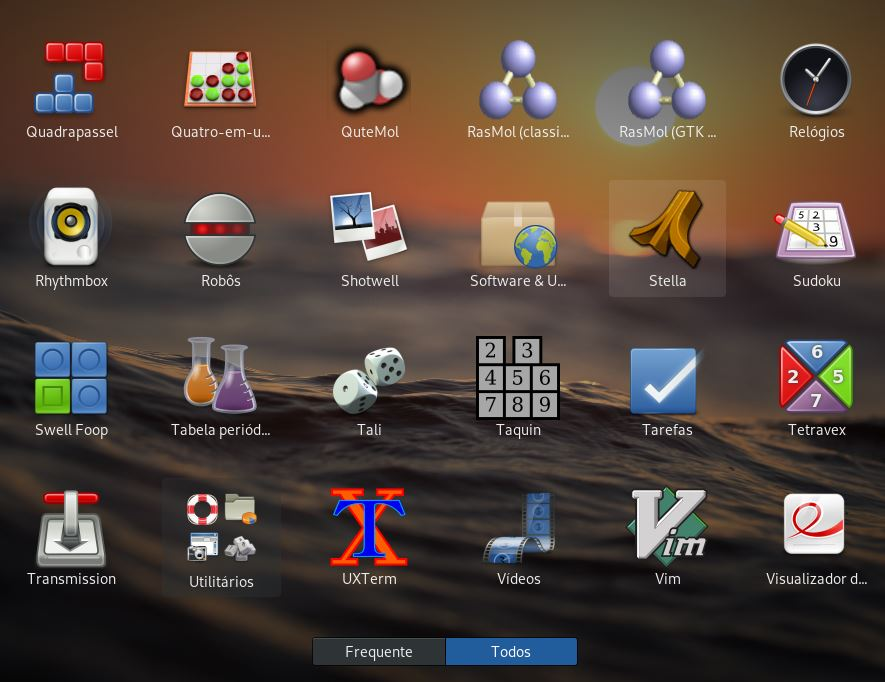 Abrir o Stella no Linux Debian