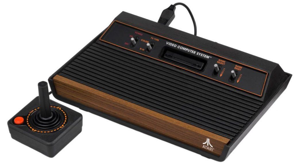 Vídeogame Atari 2600 VCS