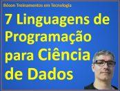 sete linguagens de programação para cientistas de dados
