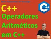 Operadores Aritméticos em C++