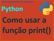 Guia da função print em Python