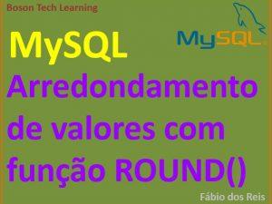 arredondar números no MySQL com função ROUND