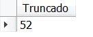 Função TRUNCATE MySQL - exemplo 01