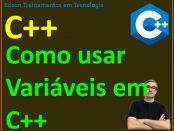 Declarar e atribuir variáveis em C++