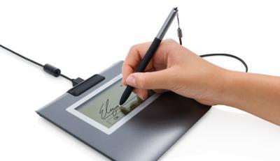 Assinatura biométrica em segurança de redes