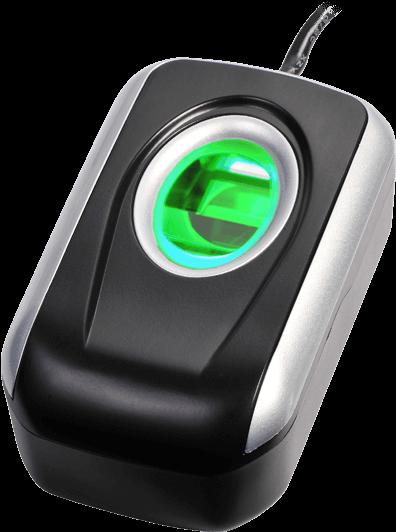 Leitor de impressões digitais - biometria