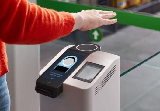 Leitura da palma da mão em biometria