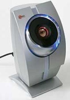 Scanner de retina para biometria