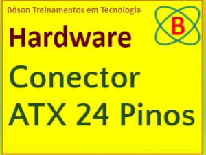 Conector ATX de fontes de alimentação para PC